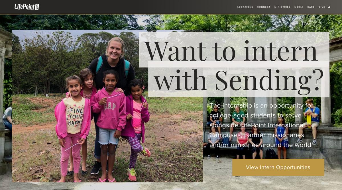 LifePoint Church Website